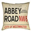 Thumbprintz Abbey Road Indoor / Outdoor Pillow