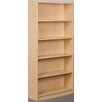 "Stevens ID Systems Library 74"" Starter Single Face Shelf Bookcase"