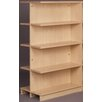 "Stevens ID Systems Library 61"" Adder Double Face Shelf Bookcase"