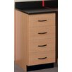 """Stevens ID Systems Science 18"""" Four Drawer Cabinet"""