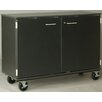 "Stevens ID Systems Music 40"" Choral Folio Storage with Casters and Doors"