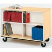 Stevens ID Systems Mobiles Double Sided Book Cart