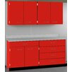 Stevens ID Systems Drawer over Door / 4 Drawer with Locks