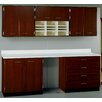 Stevens ID Systems Suites 2 Piece Standard Desk Office Suite with Locks