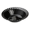 Fineline Settings, Inc Flairware Round Rippled Disposable Plastic 12 oz. Salad Bowl (180/Case)