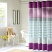 <strong>Lacey Polyester Shower Curtain</strong> by Intelligent Design