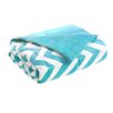 Intelligent Design Chevron Polyester Throw Blanket