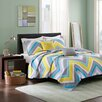 Intelligent Design Elise 5 Piece Coverlet Set
