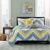 Intelligent Design Elise 4 Piece Twin / Twin XL Coverlet Set