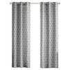 Intelligent Design Viva Window Pleated Curtain Panel (Set of 2)