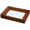 <strong>Dacasso</strong> 3200 Series Leather Front-Load Legal Tray in Rustic Brown
