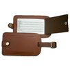 <strong>Dacasso</strong> 3200 Series Leather Luggage Tag