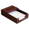 <strong>Dacasso</strong> 5000 Series 24kt Gold Tooled Leather 4 x 6 Memo Holder in Burgundy