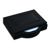 <strong>8000 Series Blackwood and Leather 4 x 6 Memo Holder</strong> by Dacasso