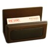 <strong>8000 Series Walnut and Leather Business Card Holder</strong> by Dacasso