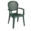 Grosfillex Commercial Resin Furniture Seville Dining Arm Chair