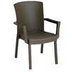 <strong>Grosfillex Commercial Resin Furniture</strong> Havana Dining Arm Chair