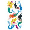 Jillson & Roberts Bulk Roll Prismatic Mermaid Sticker
