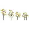 WallCandy Arts Seasons Tree Wall Decal 38 Piece Set