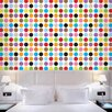 WallCandy Arts French Bull Multi-Dot Mini Wallpaper