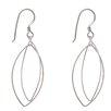 Lesa Michelle Double Open Oval Drop Earrings
