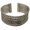<strong>Lesa Michelle</strong> Twister Wide Cuff Bangle Bracelet