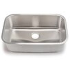 "<strong>Hahn</strong> Blanco Stellar 28"" x 18"" Single Bowl Kitchen Sink"