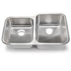 "<strong>Hahn</strong> Blanco Stellar 32.33"" x 20.5"" 1.8 Reverse Bowl Kitchen Sink"