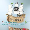 RoomMates Pirate Ship Wall Stickers
