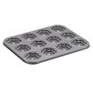 <strong>Cake Boss</strong> 37.8cm Non Stick Groovy Girl and Flower Carbon Steel Cookie Pan