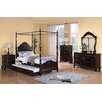 Woodbridge Home Designs Cinderella Canopy Poster Bedroom Collection