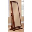 Woodbridge Home Designs Reflection II Cheval Mirror with Jewelry Storage