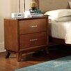 Woodbridge Home Designs Soren 2 Drawer Nightstand