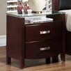 <strong>Lyric 2 Drawer Nightstand</strong> by Woodbridge Home Designs