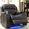 Woodbridge Home Designs Jimmy Power with Massage, LED and Cup Holder Recliner
