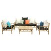 ZEW Inc 4 Piece Seating Group