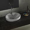 CeraStyle by Nameeks Suit Round Ceramic Bathroom Sink