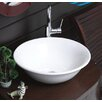 CeraStyle by Nameeks Lal C Round Ceramic Vessel Bathroom Sink