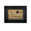 "Blossom Bucket ""A Friend Loves at All Times"" Sampler by Barbara Lloyd Framed Textual Art"