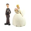 <strong>Blossom Bucket</strong> 2 Piece Bride and Groom Statue Set