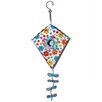Blossom Bucket Floral Kite-Shaped Birdhouse
