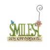 "Blossom Bucket ""Smiles are Contagious"" Picture Holder"