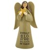 "Blossom Bucket ""Family - Love Will Be There"" Angel Statue"