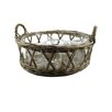 <strong>Blossom Bucket</strong> Wicker Basket with Four Divider Bowl