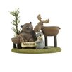 "<strong>Blossom Bucket</strong> ""Welcome"" Forest Friends on Base Statue"