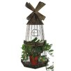Blossom Bucket Windmill Bird Cage Planter
