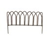 Blossom Bucket Small Metal Fence Figuriine