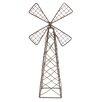 <strong>Blossom Bucket</strong> Small Fairy Garden Windmill Figurine