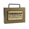 Blossom Bucket Decorative Friendship Box Sign with Handle