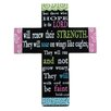 "Blossom Bucket Decorative ""Hope In The Lord"" Cross"